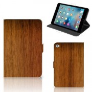 B2Ctelecom Apple iPad Mini 5 Tablet Book Cover Donker Hout