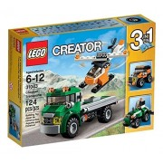 Toys 4 U 7777 LEGO Creator 3 in 1 Chopper Transporter 31043 Brand New Sealed Set 124 Pcs /item# G4W8B-48Q26570