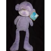 Doudou Violet Peluche Violette Singe Tex Baby Carrefour Mauve Comforter Plush Mixte Bebe Eveil Naissance 46 Cm Environ