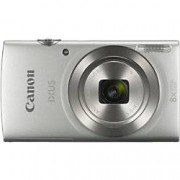 Canon Digital Camera IXUS 185 20 Megapixel Silver + 1 x Case, 1 x SD Card