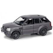 Rmz City Die Cast Land Rover Range Rover Sport, Matte Black (5-inch)