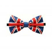 Geen Engeland verkleed vlinderstrikje 12 cm voor dames/heren