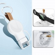 Mini Keychain Style iWatch Wireless Charger for Apple Watch Series 5/4 44mm/Series 5/4 40mm/Series 3/2/1 42mm/Series 3/2/1 38mm