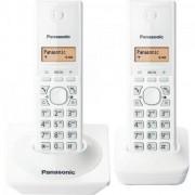 Telefone sem Fio com ID Base + Ramal KX-TG1712 Branco Panasonic