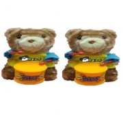New Pinch funny Windup Teddy Bear Drummer Sound Toy for Kids (pack of 2)