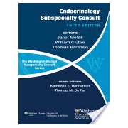 Washington Manual of Endocrinology Subspecialty Consult (McGill Janet B.)(Paperback) (9781451114072)