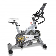 Bicicleta Ciclismo Indoor Spada Racing Dual Bh Fitness + Dual Kit BÊ: Ciclismo Indoor + Programas Predefinidos