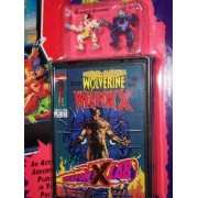 X-Men Pocket Comics Weapon X Lab Playset with Water Squirting Action