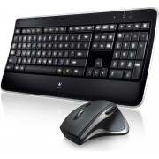 Tipkovnica + miš Logitech MX800 Wireless Performance Combo, Unifying reciever, USB