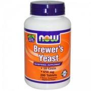 Бирена Мая 650 мг. - BREWERS YEAST - 200 таблетки - NOW FOODS, NF2410