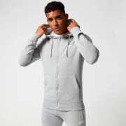 Myprotein Tru-Fit Zip Up Hoodie - XXL - Grau