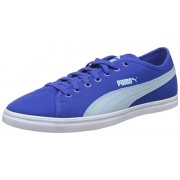 Puma Men's Elsu v2 CV DP Dazzling Blue and Cool Blue Sneakers - 3 UK/India (19 EU)