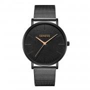 Ceas femei luxury bracelet Geneva black