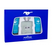Ford Mustang Mustang Blue 100Ml Edt 100 Ml + Shower Gel 100 Ml + Aftershave Balm 100 Ml Per Uomo (Eau De Toilette)