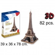 3D Puzzle - Eiffel Torony - 82db