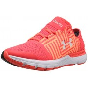 Under Armour Women's Speedform Gemini 3 Sirens Coral and White Running Shoes - 4.5 UK/India (38 EU)