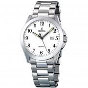 Reloj F16376/1 Plateado Festina Hombre Acero Clasico Festina