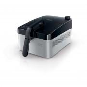 Friteuza Philips Daily Collection HD9210/90, 800 g, multicooker, fara grasimi, Negru/argintiu