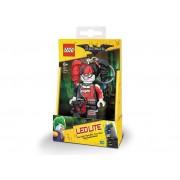Breloc Cu Lanterna LEGO Harley Quinn (Lgl-Ke107)