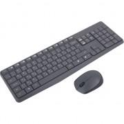 Tastatura cu mouse wireless MK235, Logitech, Gri, RUS