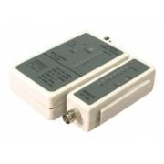 "Tester cablu RJ45 / BNC Logilink ""WZ0011"""