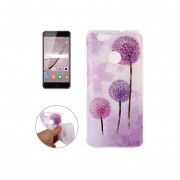 Huawei Nova Imd Purple Dandelion Patron Tpu Suave Volver Funda
