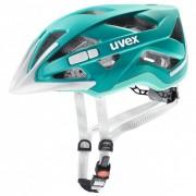 Uvex - Women's City Active - Casque de cyclisme taille 52-57 cm, turquoise/gris