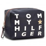 Smink táskák TOMMY HILFIGER - Poppy Wash Bag Logo Print AW0AW05189 904