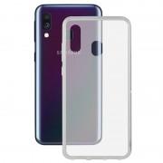 Capa de TPU Ultrafina Ksix Flex para Samsung Galaxy A40 - Transparente