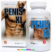 Penis XL 60 db tabletta, Pénisz növelő hatású, 1 havi adag