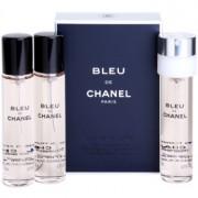 Chanel Bleu de Chanel eau de toilette para hombre 3 x 20 ml recarga