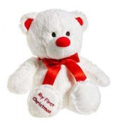 White 2 Feet Special My First Christmas Plush Teddy Bear