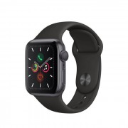 Apple Watch Series 5 GPS 40mm in alluminio grigio siderale - Sport Nero