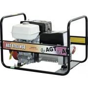Generator de curent cu benzina AGT 8703 HSB 4000W/230V & 6400W/400V, motor Honda 389cm³