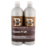 Tigi Bed Head Men Clean Up 750 ml sada šampon 750 ml + kondicionér 750 ml pro muže