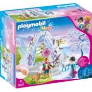 Playmobil Magic - Poarta de Cristal si Taramul Inghetat