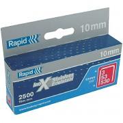 Capse Rapid 53 10 2500 buc cutie otel inox