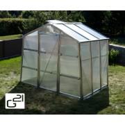 Skleník GZ 48 - 251 x 191 cm polykarbonát s UV filtrom
