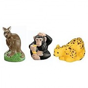 Little People Leopard Kangaroo and Chimpanzee