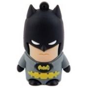 Microware Batman Shape 8 GB Pen Drive(Black, Grey)