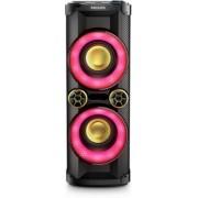 Sistem Audio Philips NTX400, CD Player, Bluetooth, joc de lumini