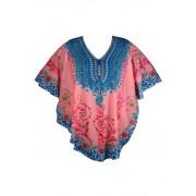 Ata Sweet letní plážové šaty růžová