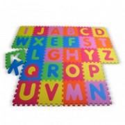Covor Puzzle din Spuma Happy Children 26 piese - Alphabet