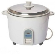Panasonic SRWA22F Electric Rice Cooker(5.4 L, WHITE WITH FLORAL DESIGN)