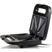 VibeX ™ Sandwich Maker Non Stick Electric Grill, 750W, Black, 2-Slice Toast(Black)