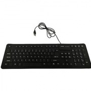 ROCKSOUL Flexible Keyboard Slim Water & Dust Proof (KB-101F106B)