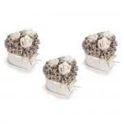 Platou ceramica galben Pineapple Yellow cm 11 x 18,5 cm