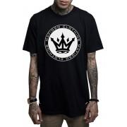 Muška majica MAFIOSO - MAFIOSO PATCH - BLK - MAF004