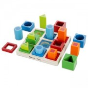 Дървени форми и цветове,10582 Melissa and Doug, 000772105828