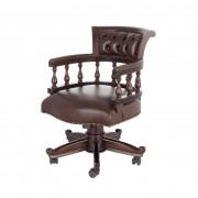 Dekoria Fotel obrotowy Sherlock, 90 × 75 × 60 cm